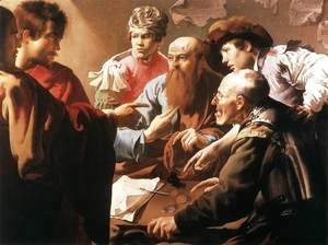 Hendrick Terbrugghen - The Calling of St Matthew