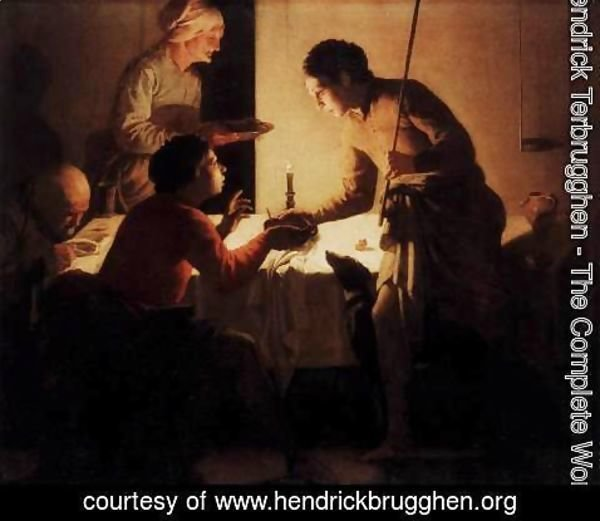 Hendrick Terbrugghen - Esau Selling His Birthright