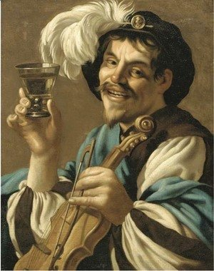 Hendrick Terbrugghen - The Merry Drinker