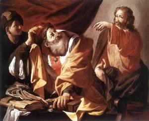 Hendrick Terbrugghen - The Calling of St Matthew c. 1616