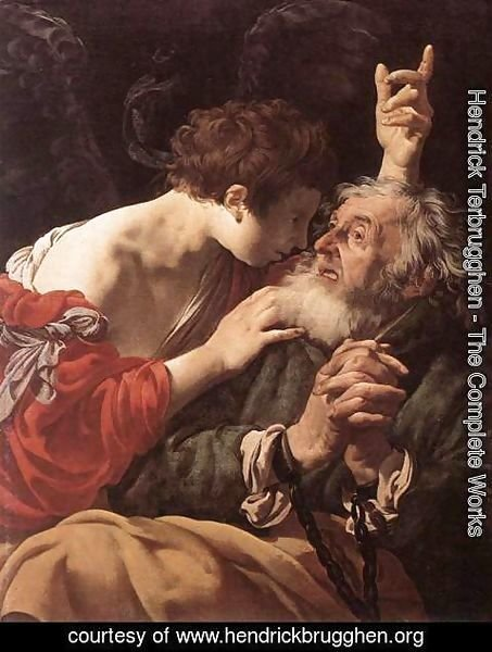 Hendrick Terbrugghen - The Deliverance of St Peter