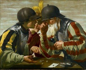 Hendrick Terbrugghen - The Gamblers