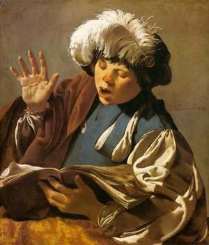 Hendrick Terbrugghen - Singing Boy