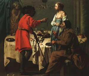 Jacob Reproaching Laban 1627