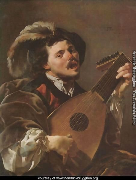 Lute Player 1624