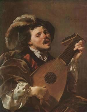 Hendrick Terbrugghen - Lute Player 1624