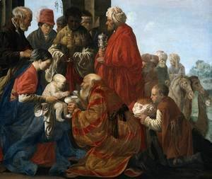 Hendrick Terbrugghen - The Adoration of the Magi