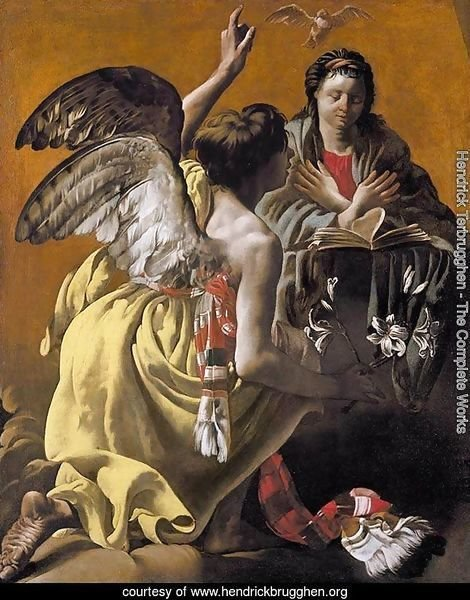 The Annunciation 1624-25