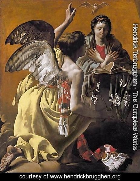 Hendrick Terbrugghen - The Annunciation 1624-25